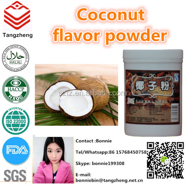 Hot sale coconut flavor powder for shake