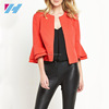 New Ladies Fashion Apparel Clothing Bell Sleeve Office Blazer Jackets For Women