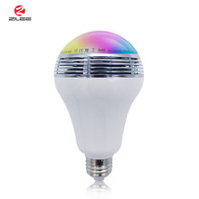 RGBW Music Bulb Lights Led, Smart Led Bulb Top Spearker Sound, 9W Led Bulb E27 Base