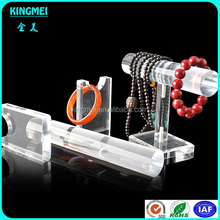 High Quality Transparent Clear Tube Acrylic Bracelet Display Holder