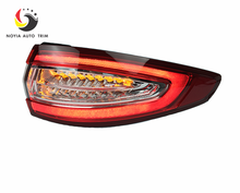 Car Styling Tail Lamp for Ford Mondeo fusion 2013 Tail Lights LED Tail Light Rear Lamp LED DRL+Brake+Park+Signal Stop Lamp