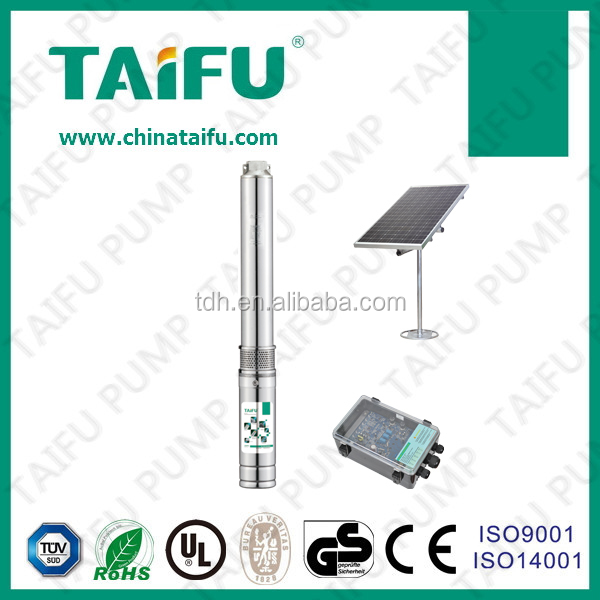 4TSC 2016 TAIFU new hot sell centrifugal submersible irrigation solar dc deep well solar cell water pump