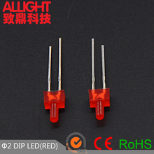 1.8mm nipple led tower led red diffused color