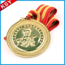 Hot Sale High Quality Sport Custom Metal Medal With Lanyard