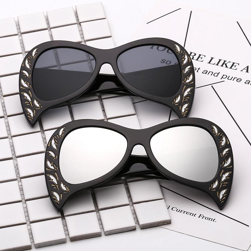 Rimless Cat Eye Sunglasses (22)