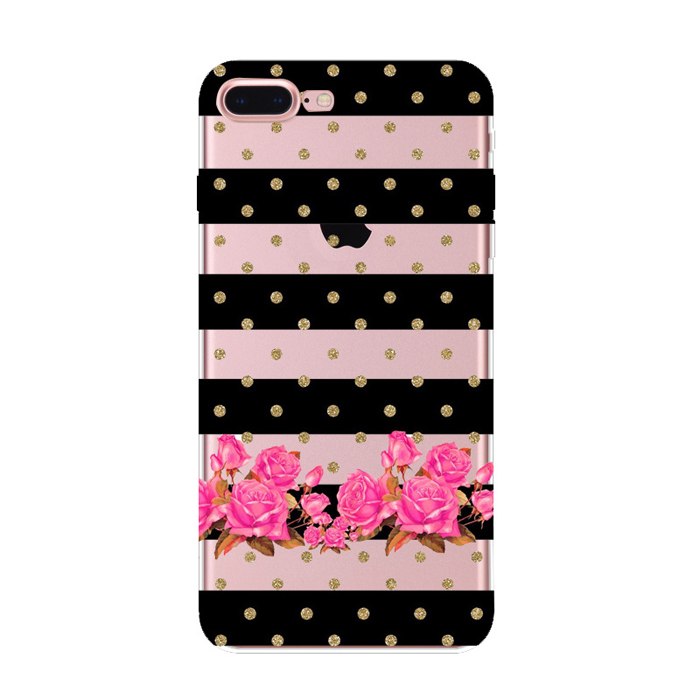 Hot sale OEM newest fashion colorful heart design bulk cell phone case for iphone 6 7 plus sublimation cases