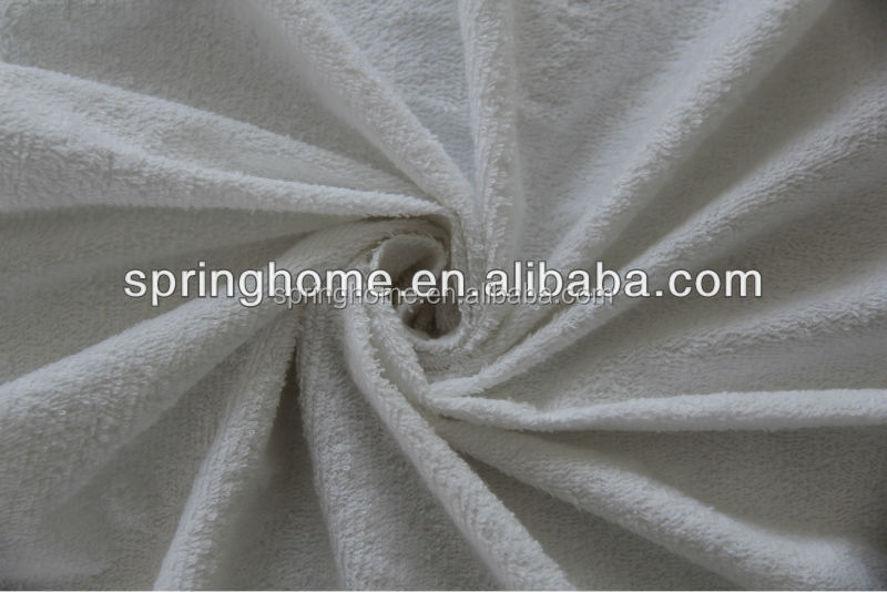 Wholesale washable waterproof flannel fabric for mattress cover