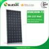 China top mono-crystalline 300watt 310w aluminum solar panel frame
