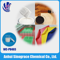 Water based polyurethane liquid resin for pvc adhesion WC-PU4030K