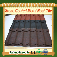 50 years warranty aluminum steel roofing sheets price colorful stone coated metal roofing tile