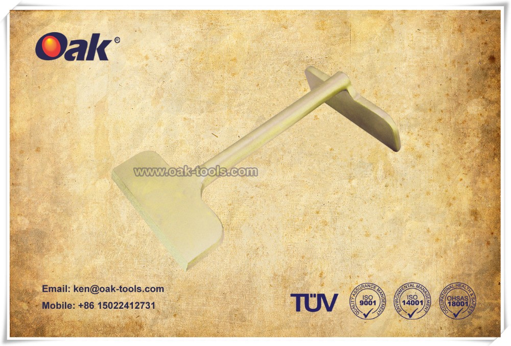 "NON sparking  Aluminium Bronze 5"" deck scraper high quality supplier"