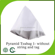 China Custom Design herbal tea bags Pyramid Shaped Teabags