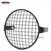 BJ-HGC-007 Motorcycle 6.5 inch Retro Front Headlight Lamp Mesh Grille Cover for Honda Cafe Racer