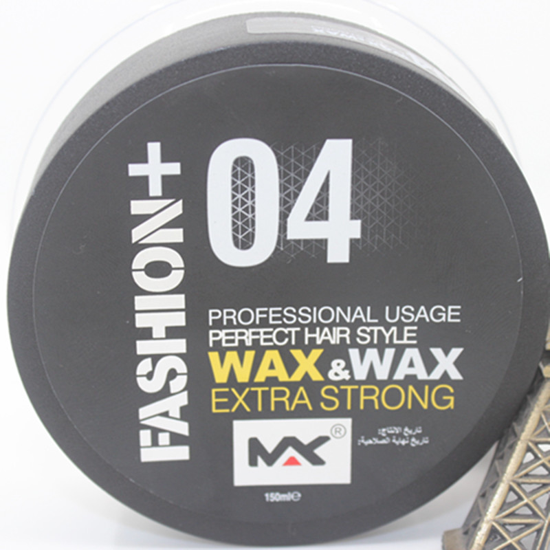 Men Professional Hair Wax Long-lasting Moisturizing Fluffy Matte Stereotypes Hairs Styling Tools Hair Gel