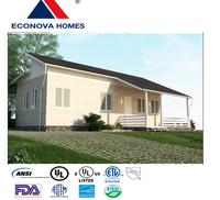 American standard low cost and high quality prefabricated home MM with rainwater collection system