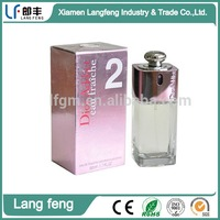 Perfume packing cosmetic design paper box packaging for cosmetics