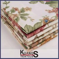 printed cotton canvas fabric