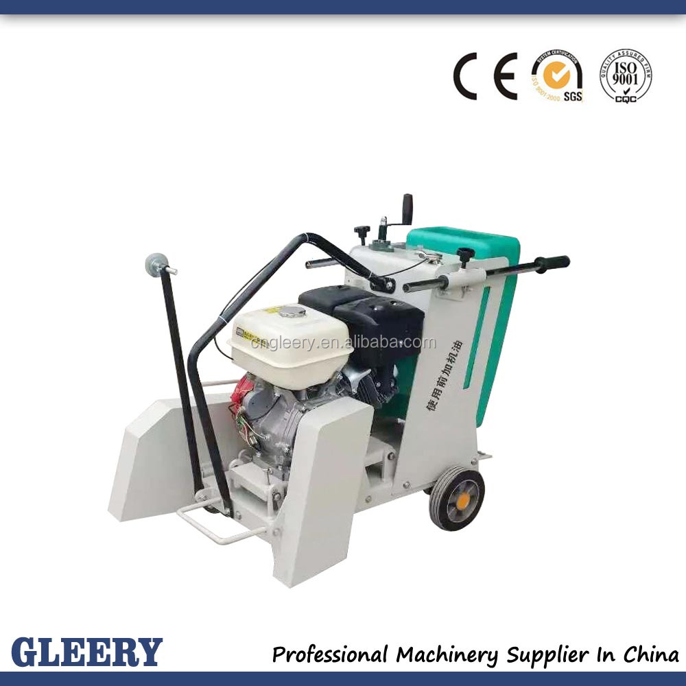 GLQ-500 Gasoline/air-cooled diesel engine concrete cutting asphalt cutting floor saw