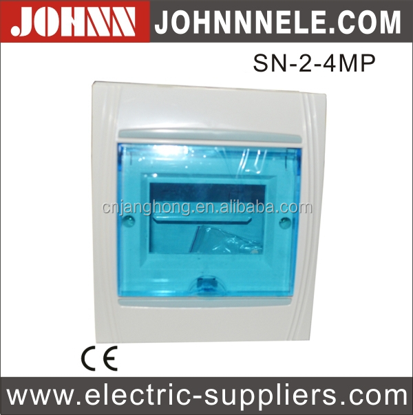 SN Plastic Panel Concealed Installation Switchboard