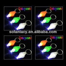 promotional led keychain flashlight,led keychain light torch,UV light led keychain