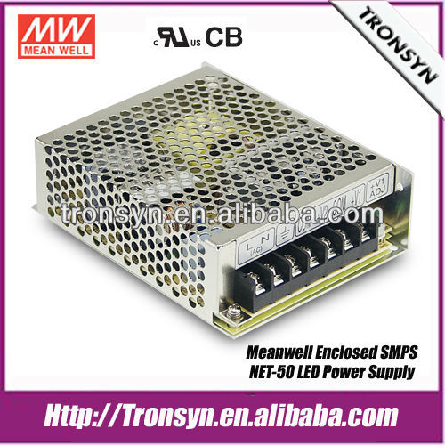 Meanwell Triple Output Power Supply NET-50D 50W LED Switching Power Supply,LED SMPS