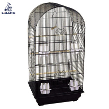 China Supplier Non Toxic Portable Stainless Steel Round Bird Cage