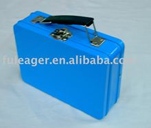 Handle Tin box, tin case, Tool tin case with handle