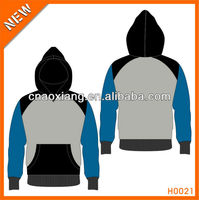 Ladies Fashion Cotton Polyester Pullover Hoodies