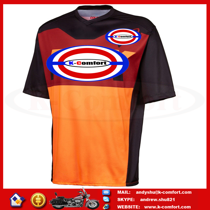 KFCOX24 High quality Motorcycle accessories Motorcross racing jersey Motorcycle sport jersey Motorcylce T shirt for sale