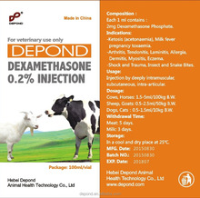 Depond GMP certificated Dexamethasone Sodium Phosphate Injection