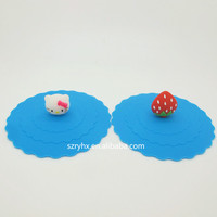 Nice silicone cup lip for promotional gift