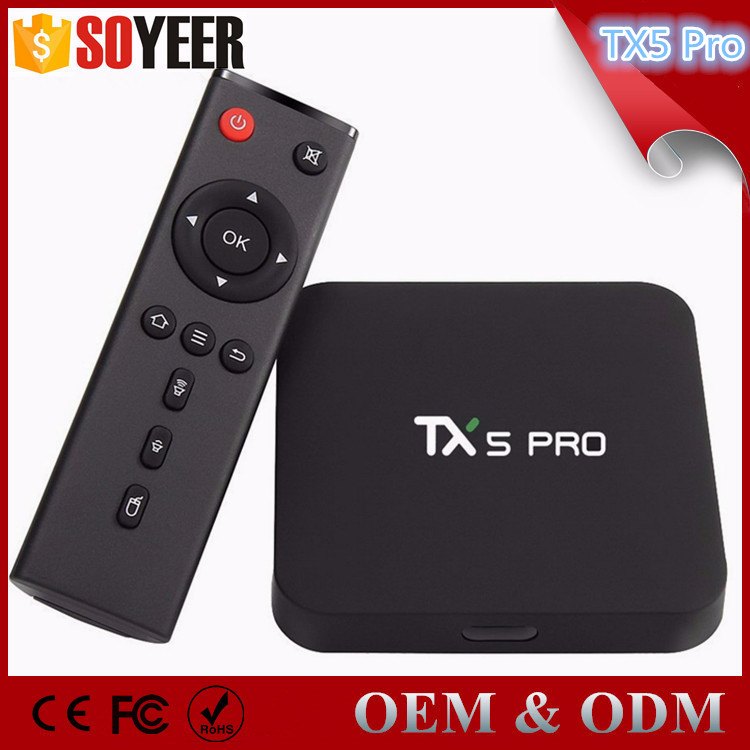 Soyeer Unique Ui Mini M8S2 S905X Android Tv Box 2G 16G S905X Android 6.0 Tv Box Tx5 Pro Tv Box