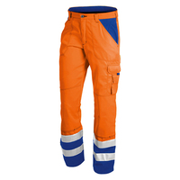 High quality hi vis 100% cotton reflective work pants for men