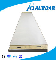 China PU Heat Insulation Fireproof Cold Room Used non-slip aluminum Foam Sandwich Panel