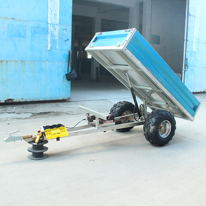 2018 New Agricultural hydraulic small dump trailer