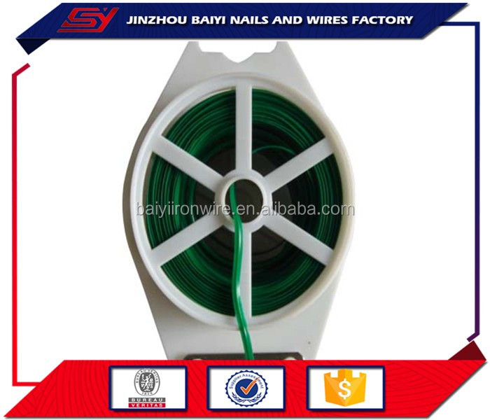 HB manufacturing anti-UV galvanized green floral wire