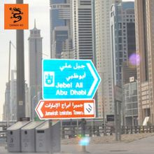 road safety traffic sign poles board
