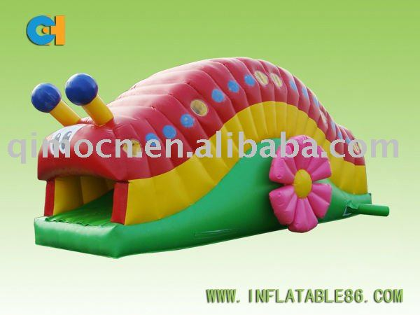 Inflatable Worm, New Design Inflatable insect Slide