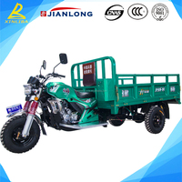 Hot selling 200cc 250cc 300cc gasoline goods carrier tricycle