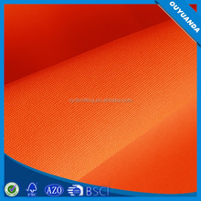 100% Polyester Fireproofing Fabric Neon Yellow/Green/Orange/Pink Fluorescent Reflective Vest Fabric/Security Uniform Cloth