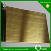 Top quality gold supplier 304 hairline surface stainless steel plate 3mm thickness for decoration wall panel