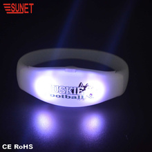 2018 SUNJET Guangdong Electrical Appliance New Product Concerts Lighting Watch Rf Remote Controlled Led Bracelet