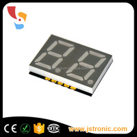 led smd display dual 0.56 inch white color 2 digits 7 segment