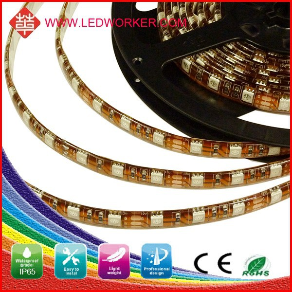 Attractive design30SMD/M Ir Led Strip 1ty IP67 30SMD/M Continuous Length wireless led strip light12v/24v DC 5050 From Ledworker