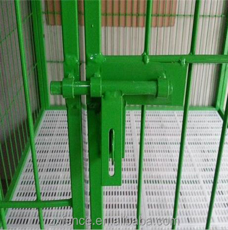 1.8mH with high quality coated galvanized Welded dog cage/Pet kennels