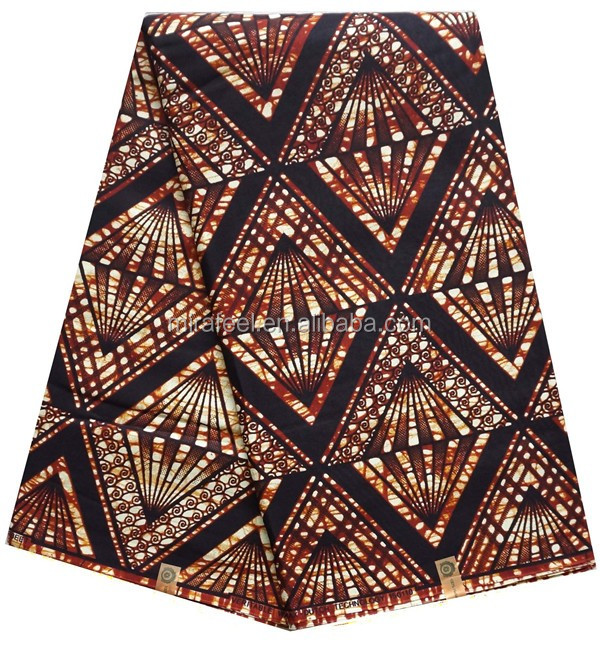 African Cotton Wax Printed Cloth Women Wax Block Prints 2016