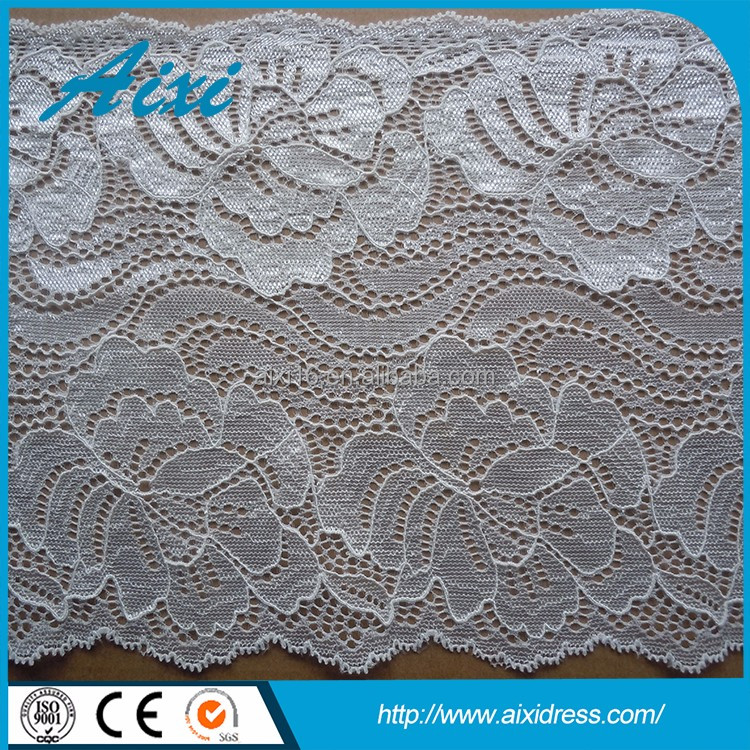 Wholesale from china lace fabric in rolls garment accessory