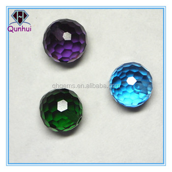 beautiful Three kinds of color ball shaped cubic zirconia