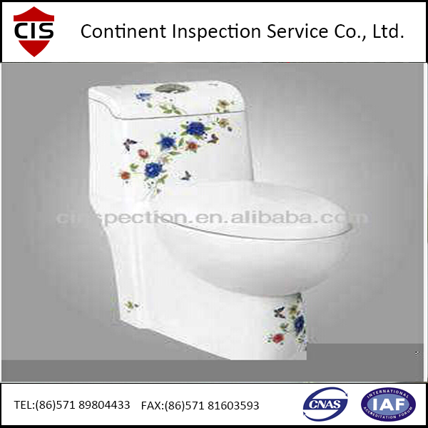 Flush toilet/Toilet bowl pre-shipment inspection/During production service in China