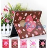 2015 Special Cute Mushroom Dot PU Leather Cover Case For iPad2 iPad iPad 3